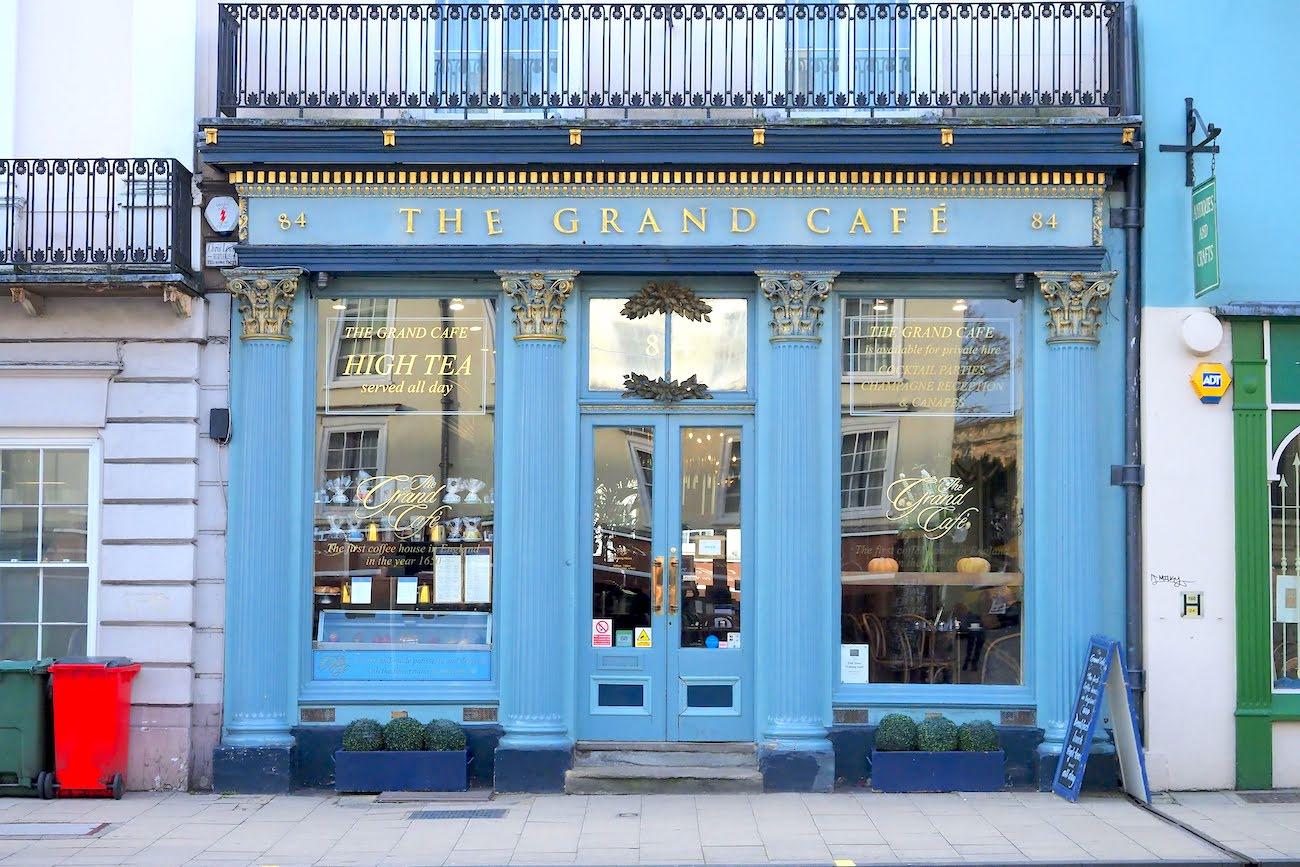 オックスフォード・THE GRAND CAFE